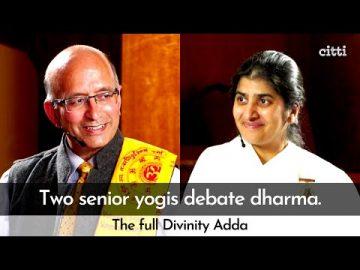 Sister BK Shivani ji & Pt. Satish K. Sharma ji debate Dharma | Full talk at The Festival of Bharat
