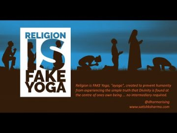 """""""Religion is Fake Yoga"""" - The Truth about Satya A talk by Pt Satish K Sharma"""