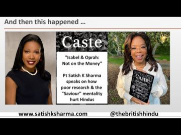 Isabel and Oprah: Not on the Money. How they harmed the Hindu community..